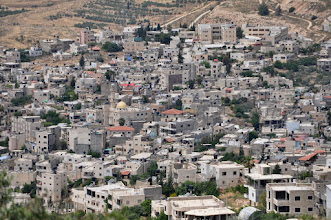 Photo: Nahalin, the only Palestinian village nearby the hill of the Nassar-family. About twenty of the villagers have small pieces of land on the hill.