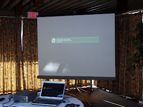 "Photo: Our Tech Session was a video presentation of the film ""Who Killed the Electric Car?"""