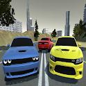 Highway Drift Challenger Speed Racing Srt Game 3D icon