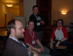 Photo: Karl, Denis, ? and NIck