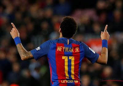 Neymar forfait pour la rencontre face à La Corogne