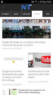 BlogNT - Actu high-tech et Web- screenshot thumbnail