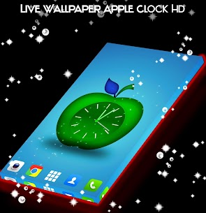 Live Wallpaper Apple Clock HD App Latest Version  Download For Android 3