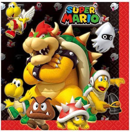 Servetter, Super Mario 20 st