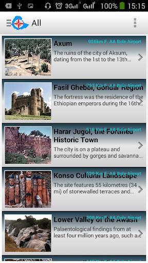 Ethio Tourist Attraction Sites