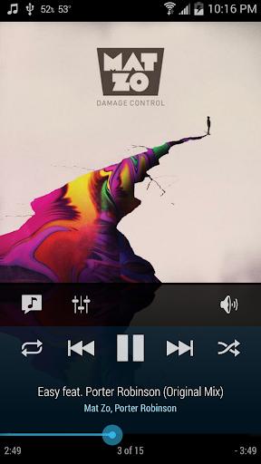 Cloudskipper Music Player screenshot 1