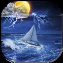 Storm - weather forecast icon