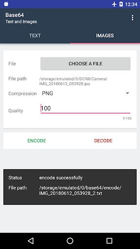 Screenshot 3 Base64 - Encode & Decode