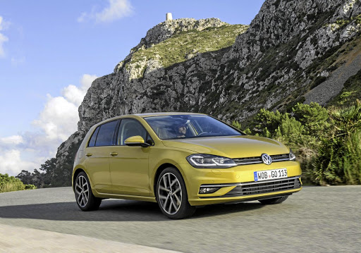 The Volkswagen Golf. Picture: NEWSPRESS