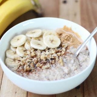 Banana and Peanut Butter Porridge