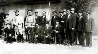 Photo: Somaten taldearen banderen bedeinkapena