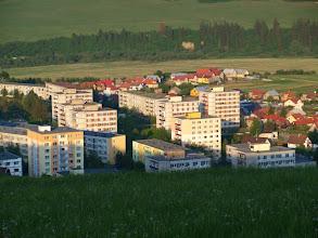 Photo: Pohľad na časť sídliska a Krásnej Hôrky.
