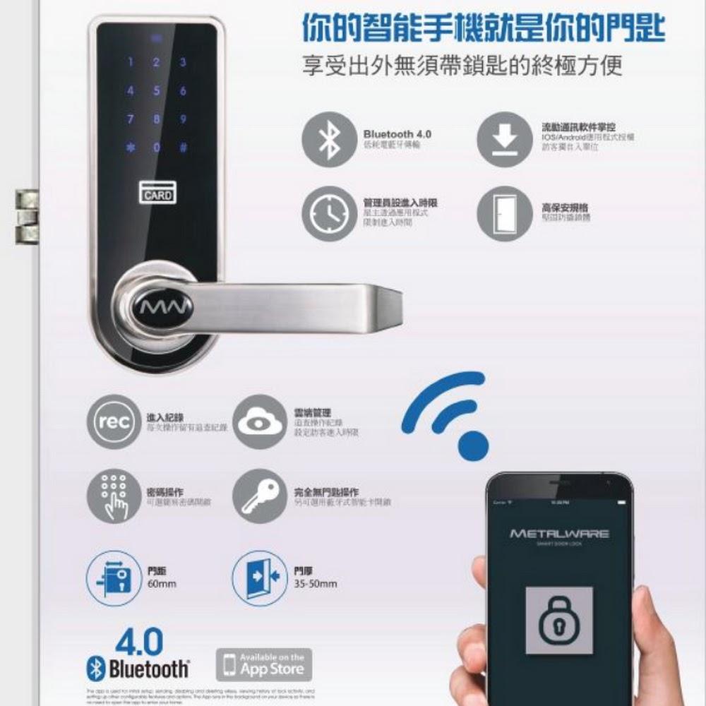 Metalware Smart Lock