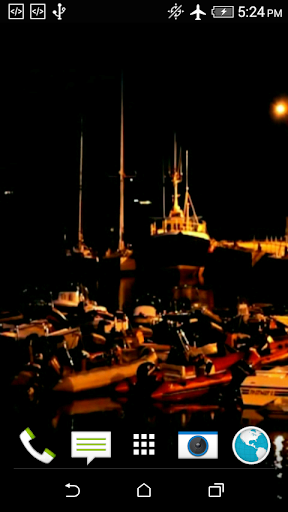 Boats At The Pier Video LWP