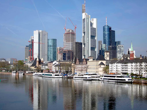Germany-Frankfurt-Main - Frankfurt, Germany, is located on the Main River and served by several cruise lines.