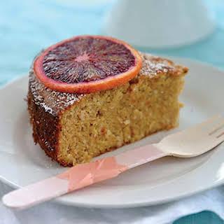 Blood Orange, Almond & Coconut Cake.