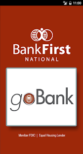 Bank First goBank- screenshot thumbnail
