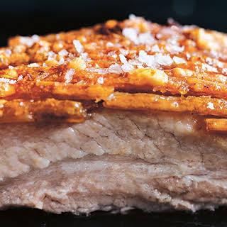Crispy Roasted Pork Belly.