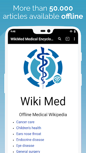 WikiMed screenshot for Android