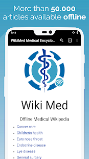 WikiMed - Offline Medical Wikipedia - náhled