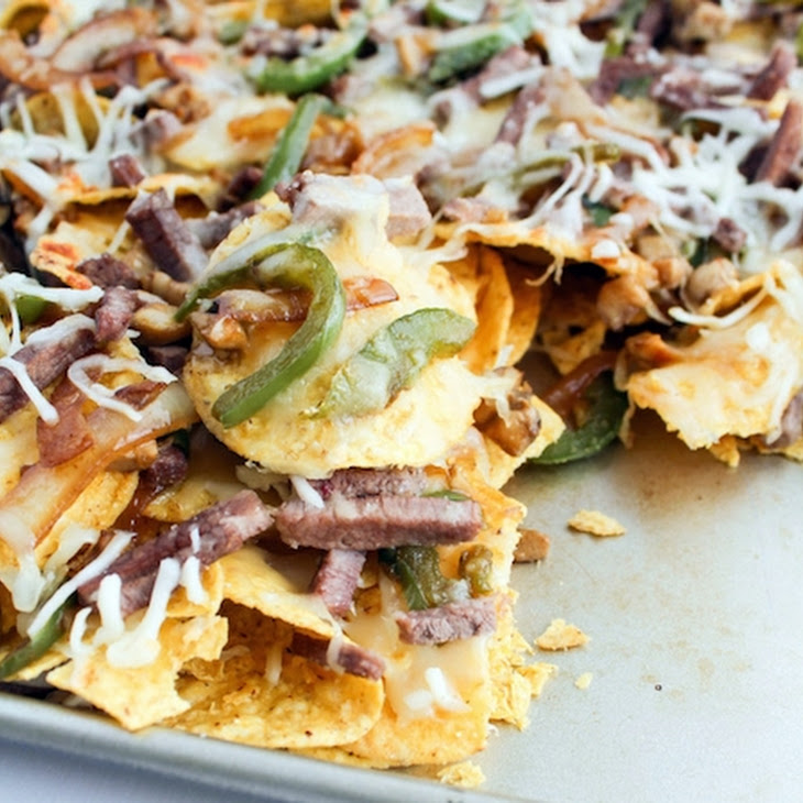 Philly Cheese-Steak Nachos Recept | Yummly