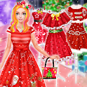 Christmas Princess Dress Up Games For Girls icon