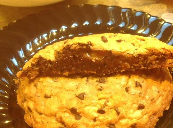 Rose Mary's Rum Brownie Stuffed Choc. Chip Cookie Recipe