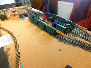 "Photo: 020 The ""shuffle yard"" at Richard Stranks' automatically controlled layout ."