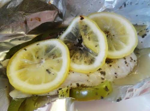 "Foil Envelope Fish ""Tried this for dinner wish some rice cooked in..."