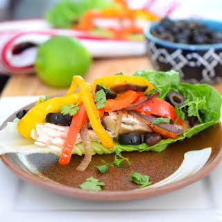 Skinny Chicken Fajitas.
