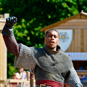 Hail to the House of York! by Victoria Eversole - People Street & Candids ( jousting, tudor history, warwick castle )