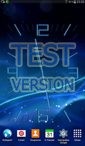 Test Clock LWP