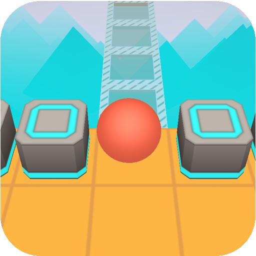 (APK) لوڈ، اتارنا Android/PC/Windows کے لئے مفت ڈاؤن لوڈ کھیل Scrolling Ball in Sky: casual rolling game