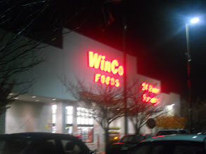 Photo: Headed next door to Winco for some extra grocery shopping, if only we have a Super Walmart.