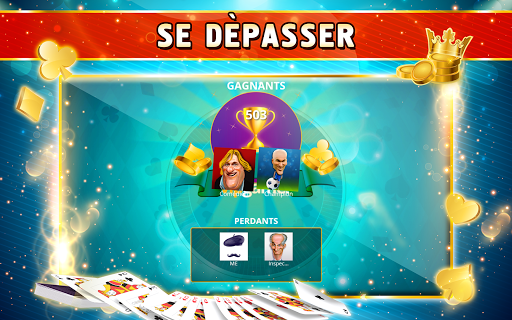 Belote Offline - Single Player Card Game screenshots 15
