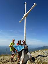 Photo: L'Agustí, l'Aida i la Mercè dalt del Taga (2.039m)