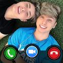 Irmãos Berti Fake Call - Video Call Irmãos Berti icon