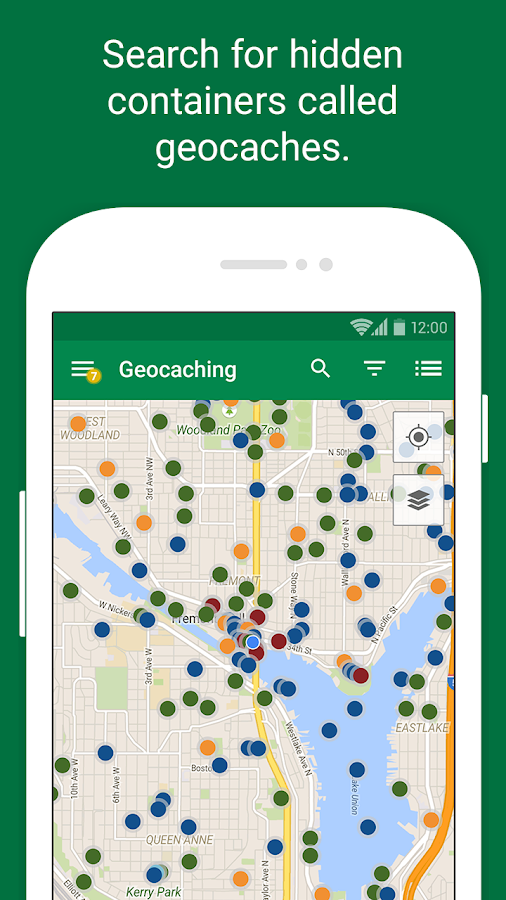 Geocaching Intro- screenshot