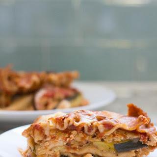 High Protein Vegetarian Lasagna | Crock Pot.