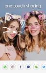 screenshot of Sweet Face Camera - live filter, Selfie face app
