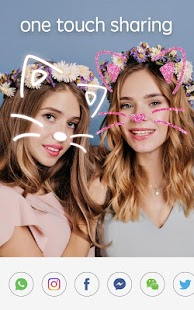 Sweet Snap - Beauty Selfie Camera & Face Filter Capture d'écran