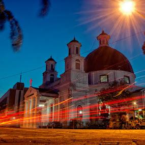 blenduk @ night by Ayah Adit Qunyit - Landscapes Travel (  )