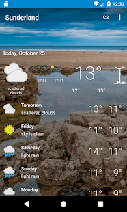 Sunderland, Tyne and Wear - Weather - náhled
