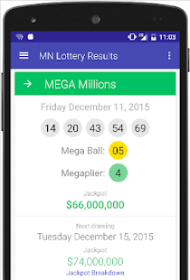 MN Lottery Results- screenshot thumbnail