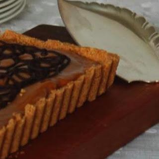 Chocolate-Caramel Tart.
