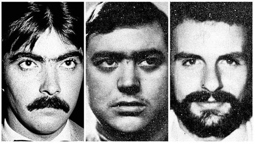 Juan Mañas, Luís Cobo y Luis Montero, los tres asesinados en Almería
