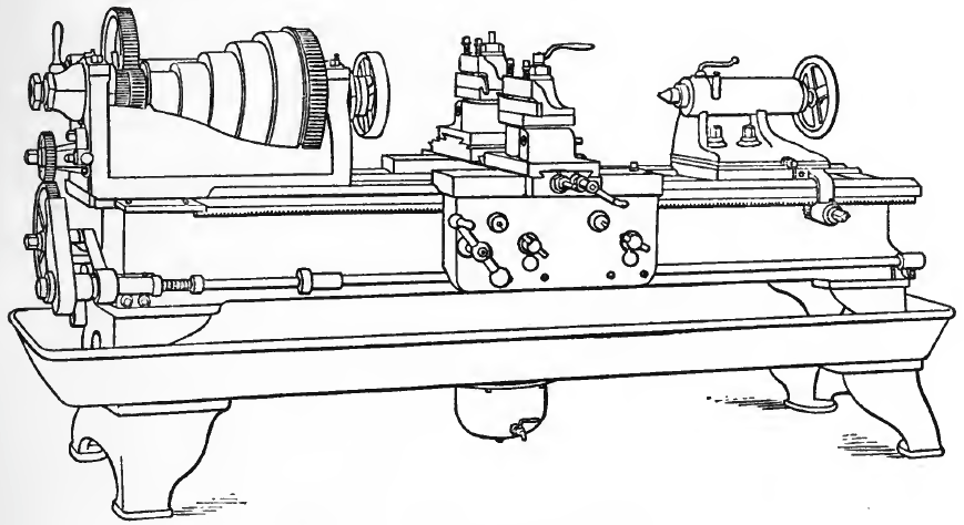 A Roughing Lathe