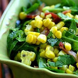 Arugula Corn Salad with Bacon