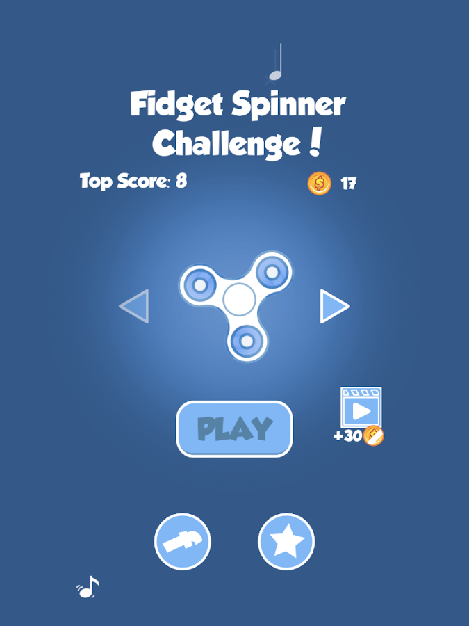 Fidget Spinner 2 - Challenge- screenshot