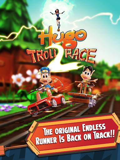 Hugo Troll Race 2: The Daring Rail Rush screenshots 5